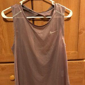Nike mesh running tank top